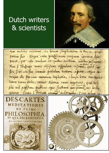 Dutch writers and scientists